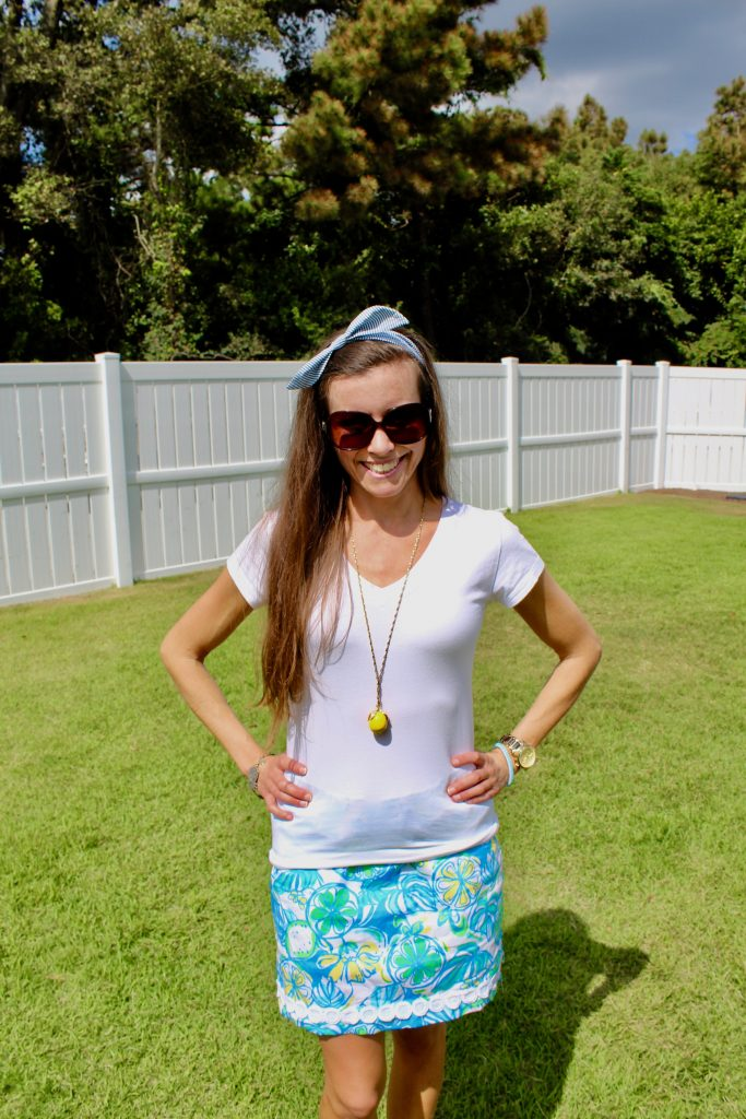 Lilly Pulitzer lemon print