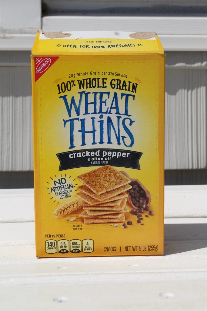 Cracked Pepper with Olive Oil Wheat Thins