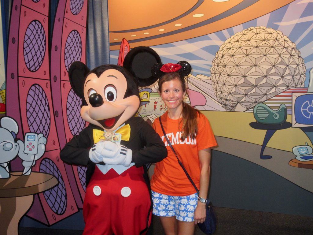 Mickey Mouse at Epcot Character Spot