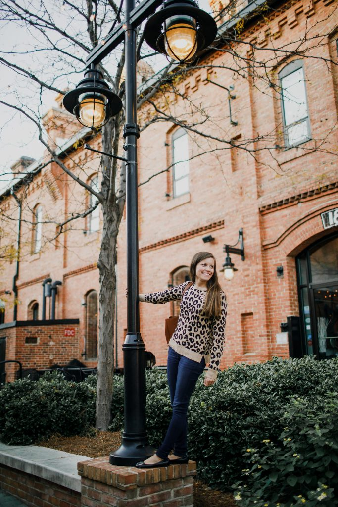 Target A New Day Leopard Print Sweater