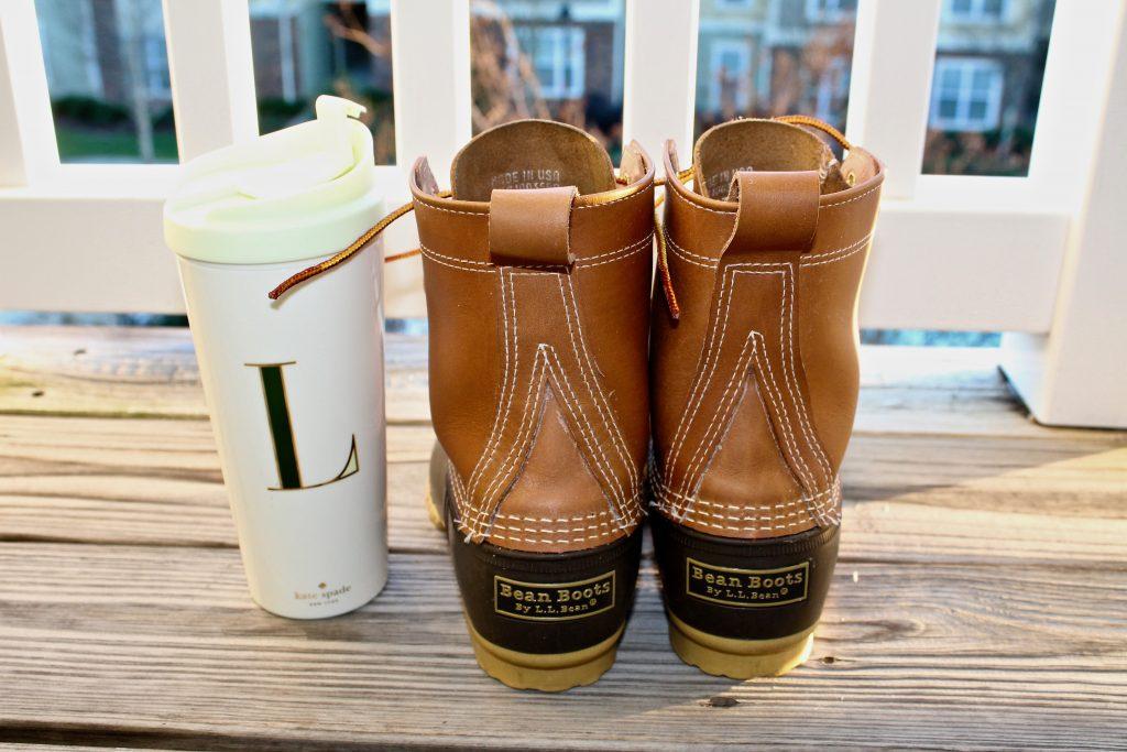 8-inch Bean Boots