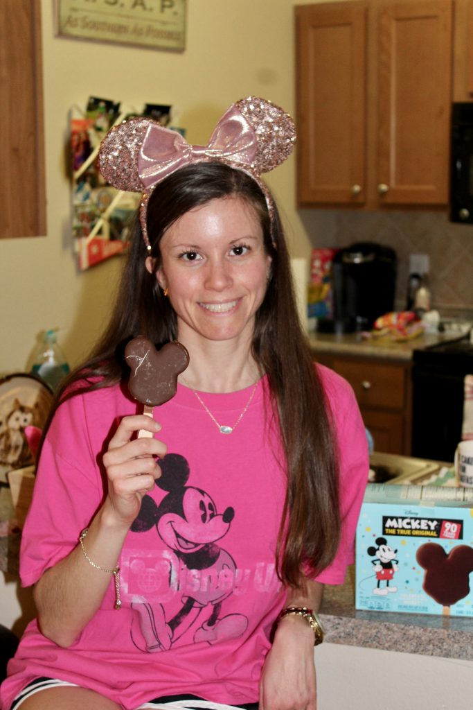 Mickey Mouse Ice Cream Bar