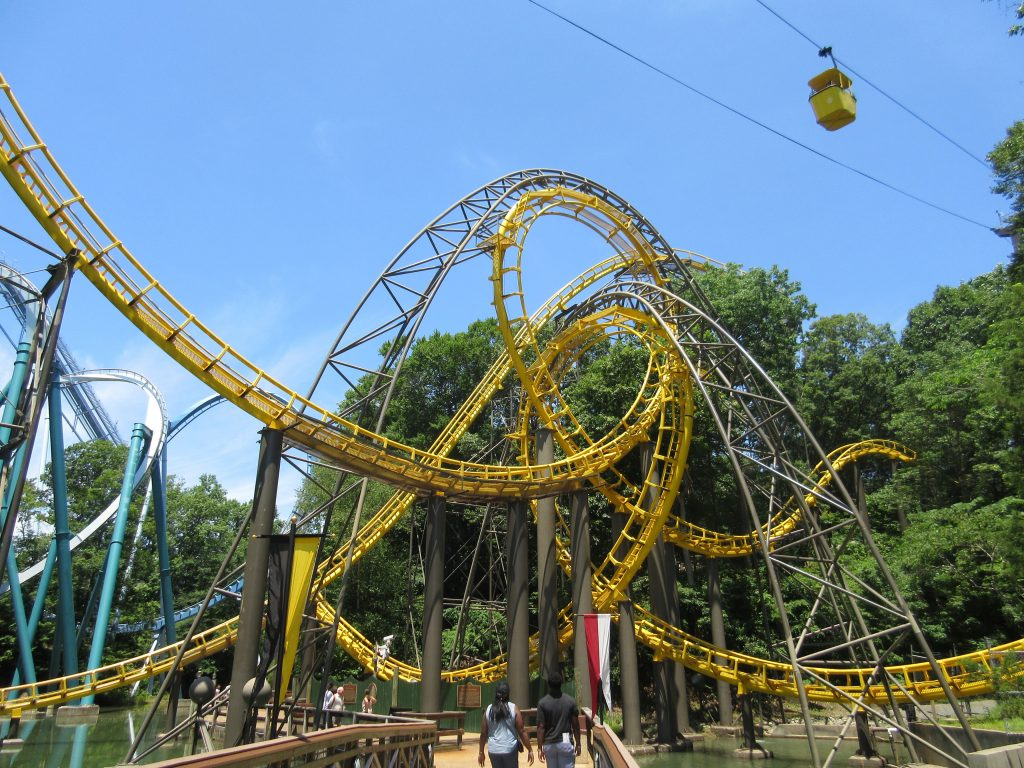 Loch Ness Monster Busch Gardens Williamsburg