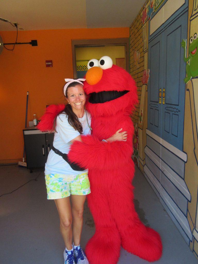 Elmo at Busch Gardens Williamsburg