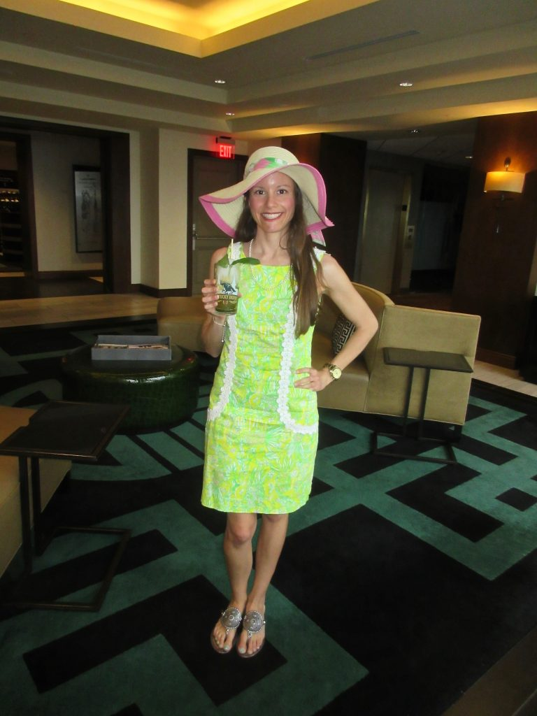 Lilly Pulitzer Kentucky Derby Hat