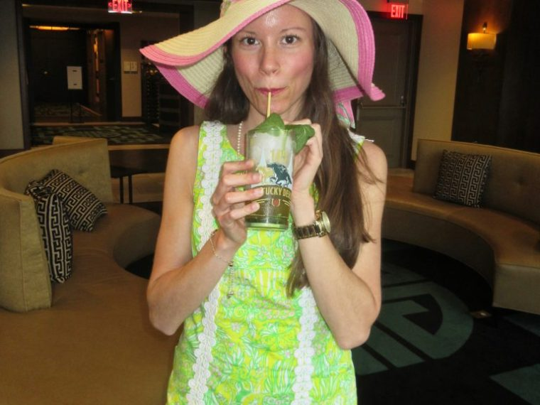 Mint Julep at Kentucky Derby Party