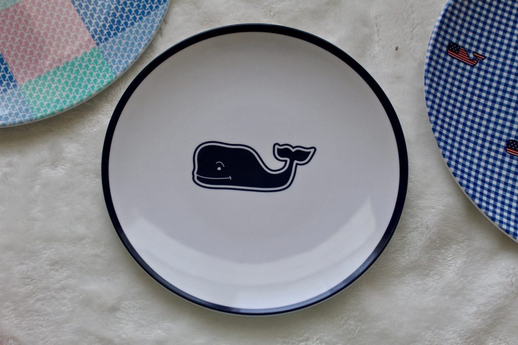 Vineyard Vines for Target Whale Appetizer Plate