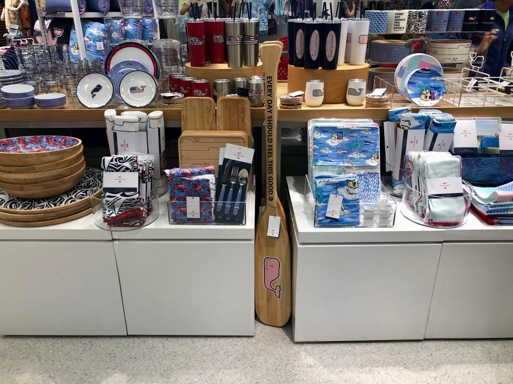Vineyard Vines for Target Display