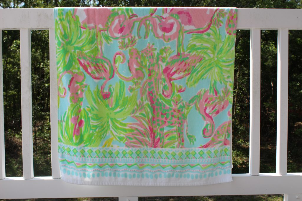 Lilly for Pottery Barn Beach Towel