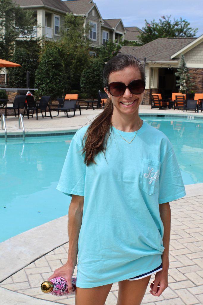 Preppy Pocket T-shirt Lauren Cames