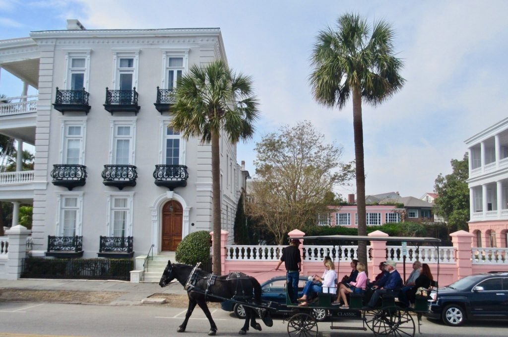 Charleston SC Carriage Ride