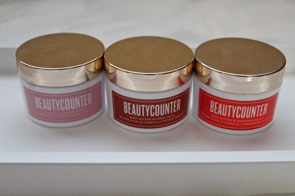 Beautycounter Holiday 2019 Body Butter Trio