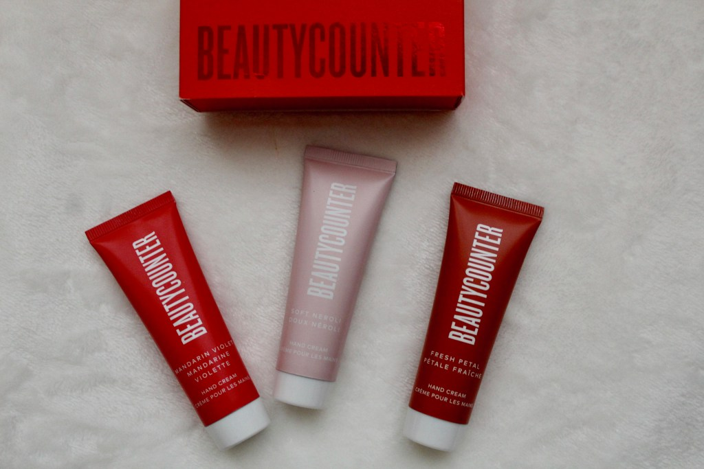 Beautycounter Hand Cream Trio