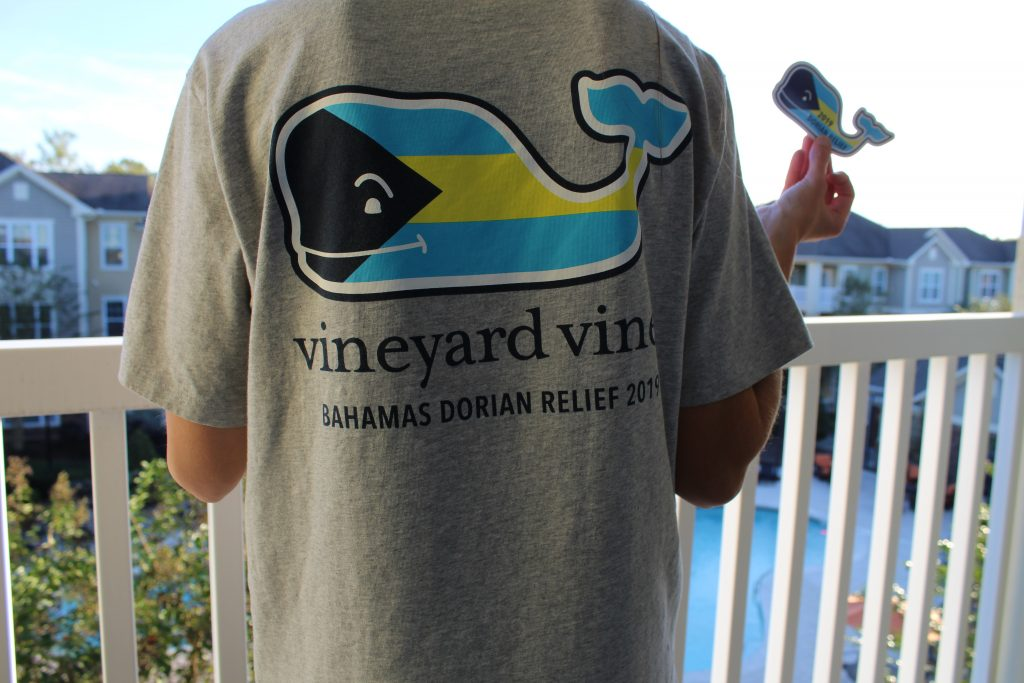 Vineyard Vines Hurricane Dorian Relief