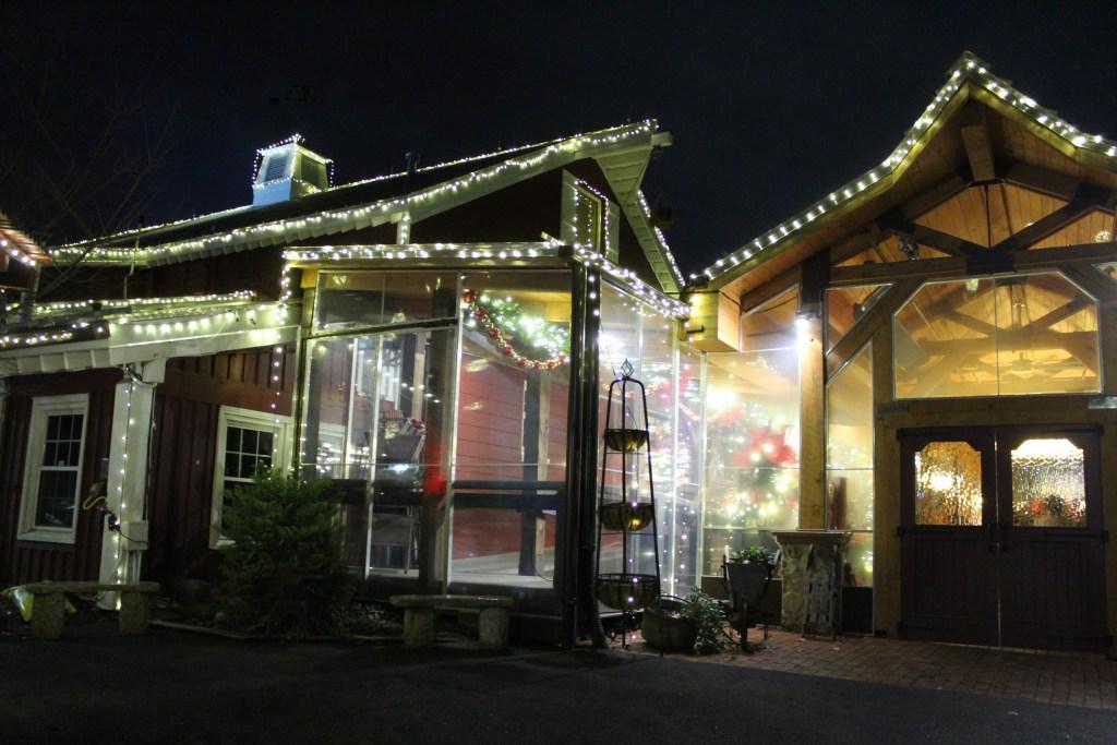 Angus Barn Christmas Lights