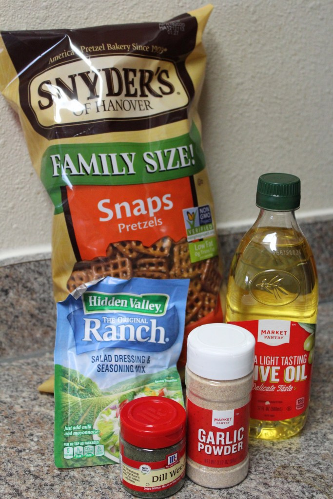 Savory Pretzel Recipe Ingredients