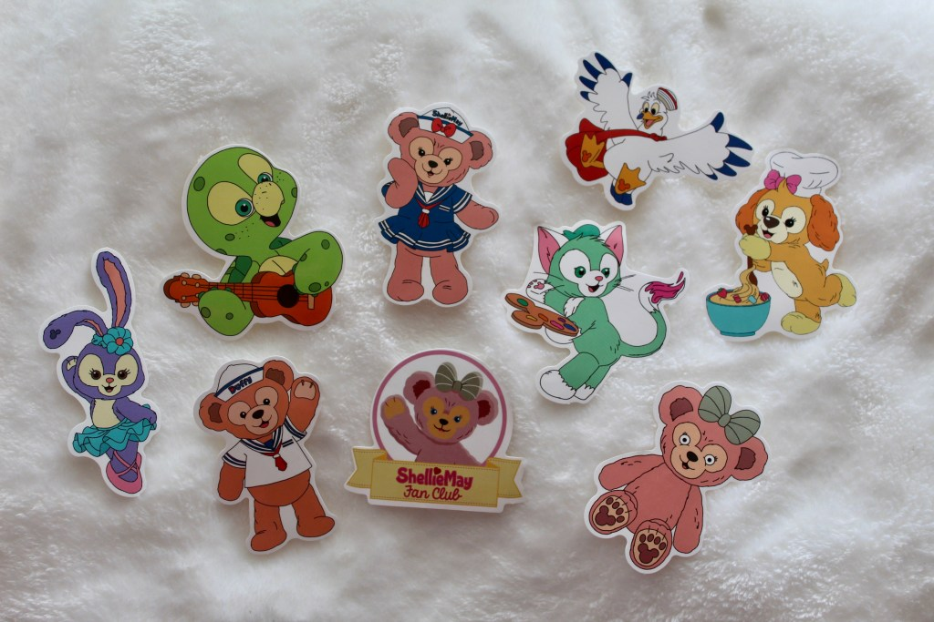 Duffy & Friends Stickers