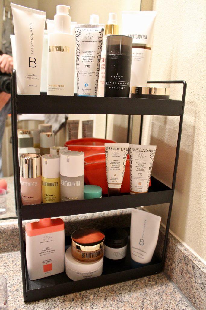 Amazon Three-Tier Bathroom Countertop Organizer