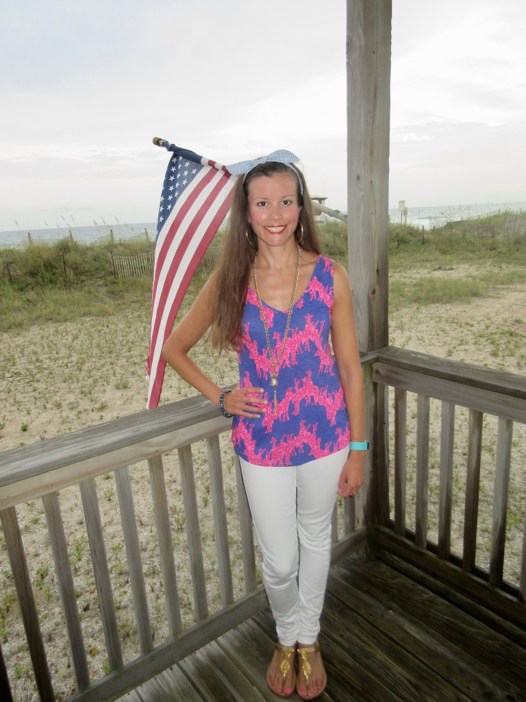 Patriotic Outfit for Olympics