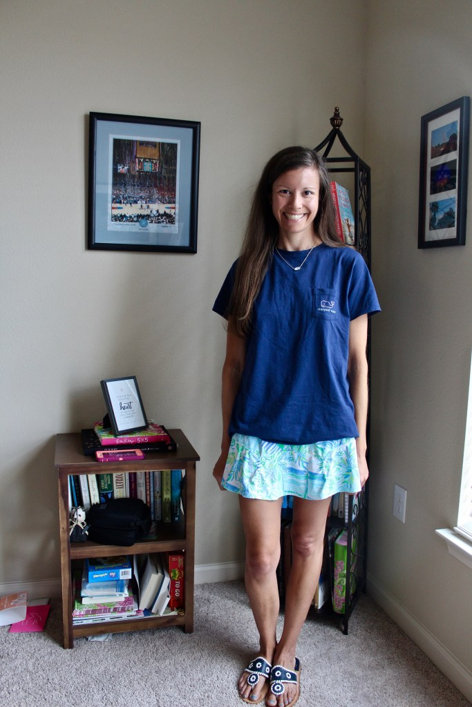 Styling a Lilly Pulitzer Luxletic Skort