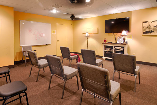 Orchid Treatment Center Therapy Room