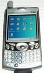 Linux working on the Palm Treo 650