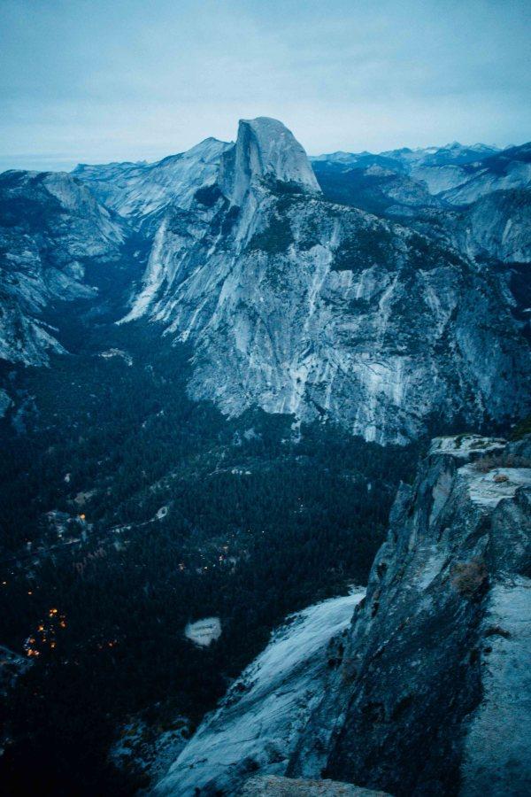 Yosemite   Palms to Pines