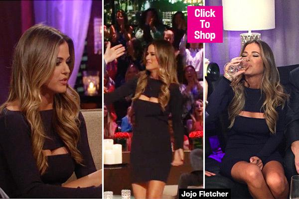 Jojo Black Dress After The Final Rose | Palms to Pines
