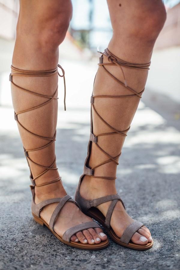 Seychelles Enterprise Gladiator Sandals | palms to pines