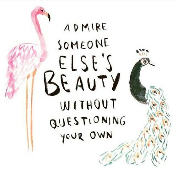 Admire Someone Else's Beauty