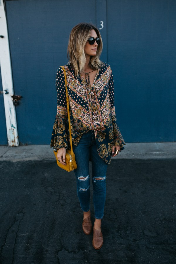 Nordstrom | Palms to Pines | 'Magic Mystery' Tunic Top FREE PEOPLE