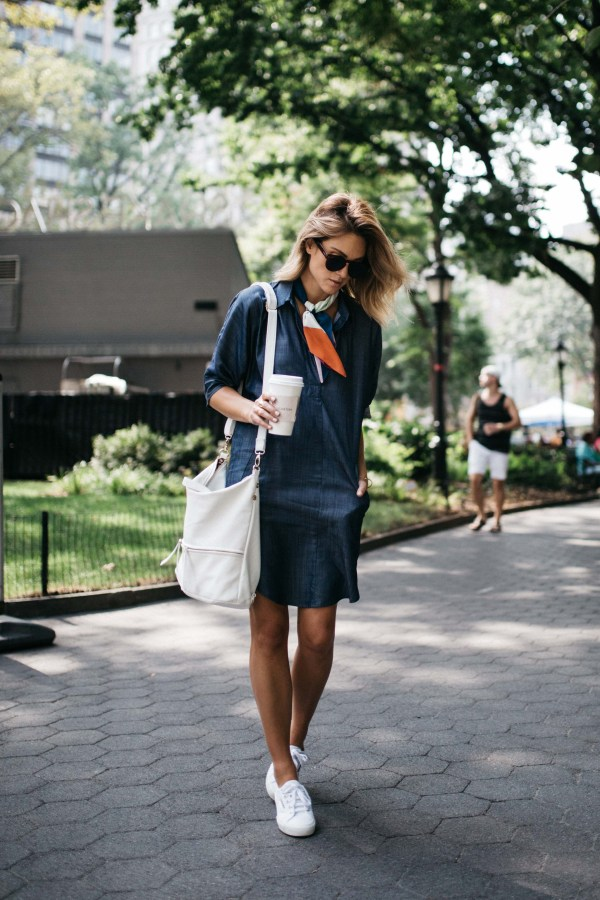Line & Dot   Ines Shirt Dress   Palms to PInes
