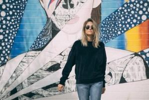 Jen Hawkins california street style on Palms to Pines style blog