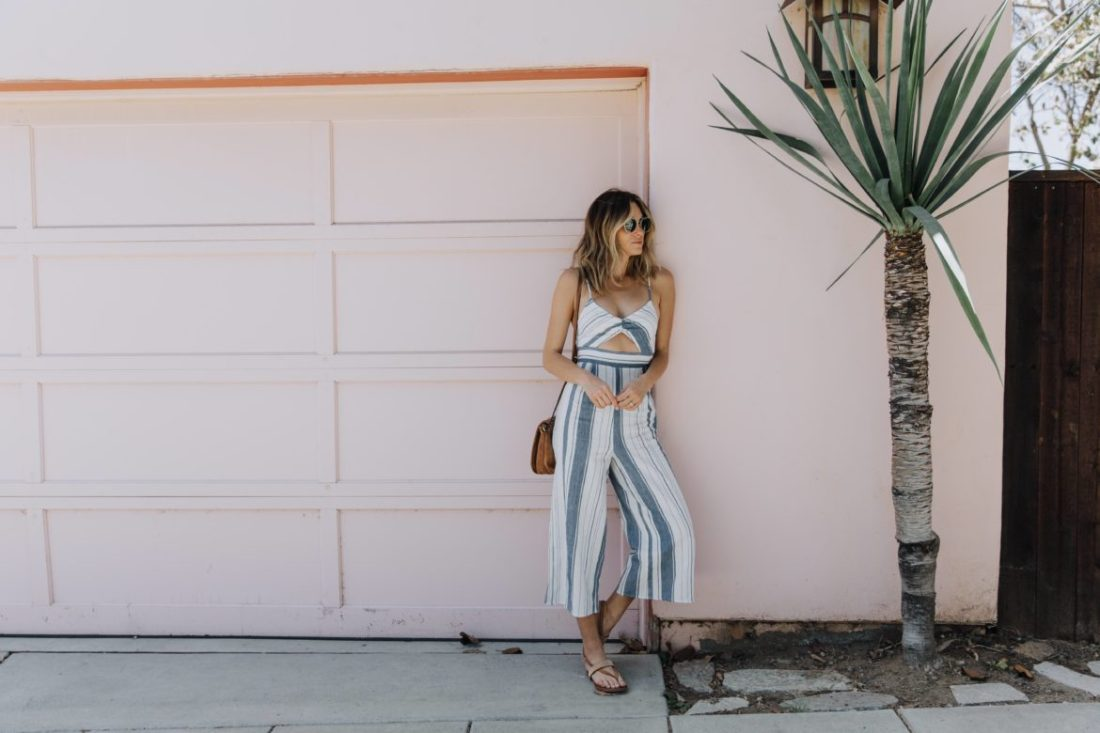 Jen Hawkins - California street style on Palms to Pines blog