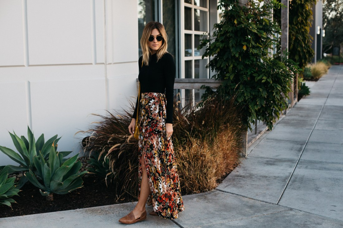 Costa Cabana wrap skirt and more on Jen Hawkins of Palms to Pines style blog