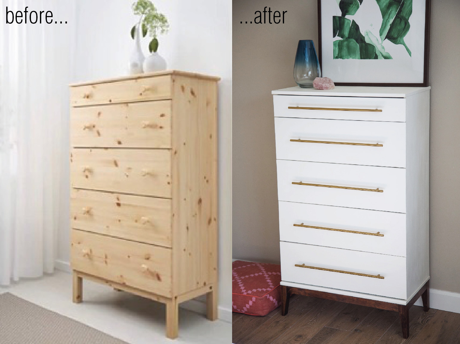 Ikea Tarva Dresser Hack Round Ii Palms To Pines