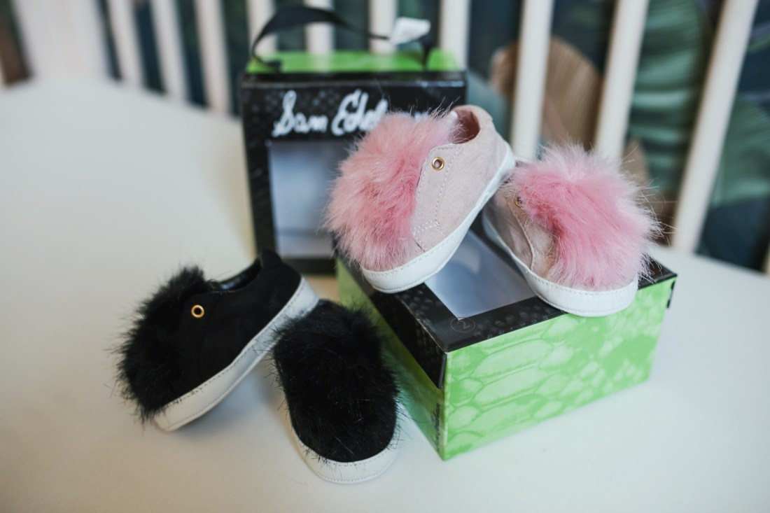 Best Baby Gear of the Nordstrom Anniversary Sale | Sam Edelman Fuzzy Baby Shoes