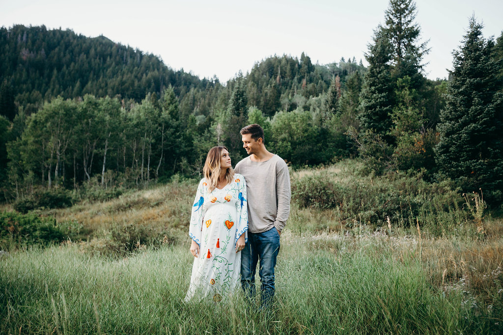 Maternity Photos | Fillyboo Maternity Dress | Courtney G Photos
