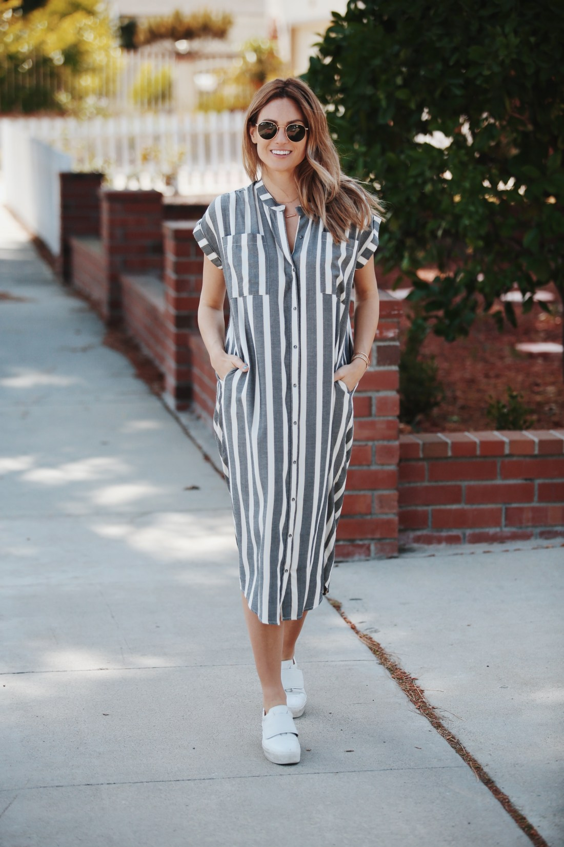 Shirt Dresses Under $100 | Knot Sisters Haze Shirt Dress | Palms to Pines