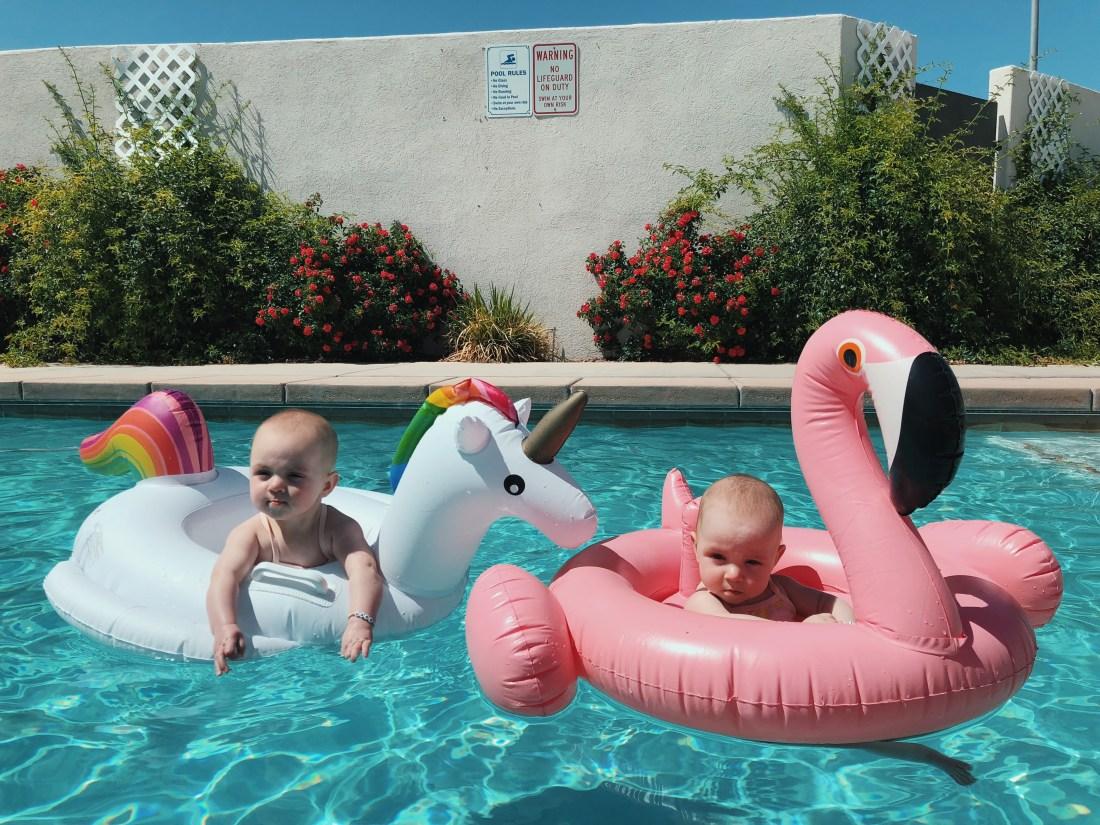 Baby Pool Floats | Unicorn | Flamingo | Swimsuit | Palms to Pines
