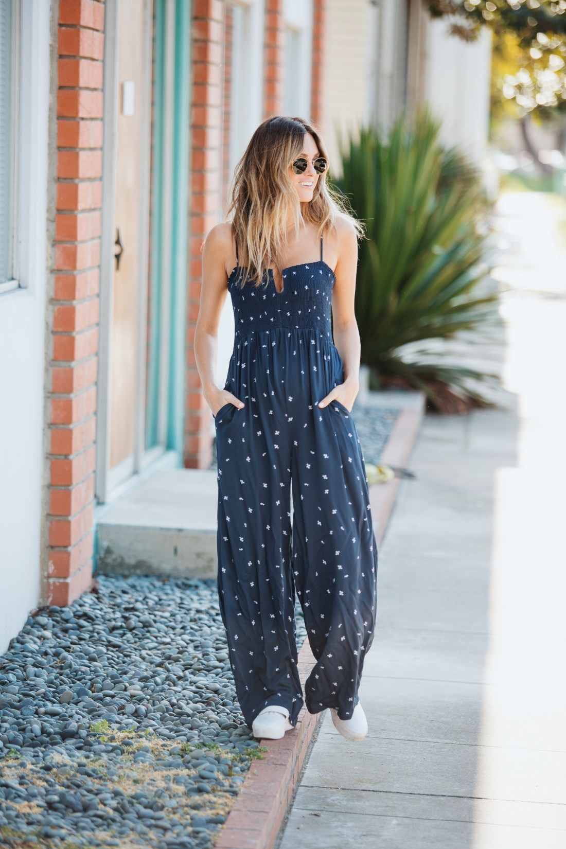 Knot Sisters West Floral Jumpsuit | Palms to Pines