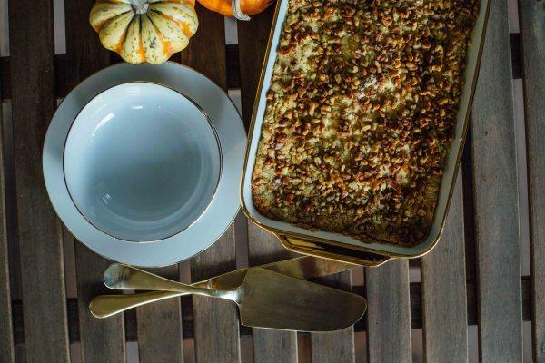 Pumpkin Pie Cake | Palms to Pines