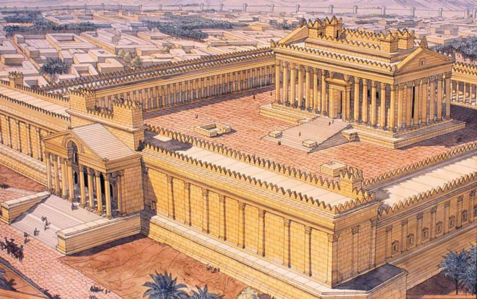 Reconstruction of Bel temple in Palmyra