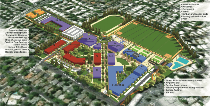 Proposed Cubberley Design