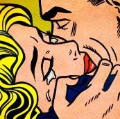 The Kiss II,Roy Lichtenstein (1962)