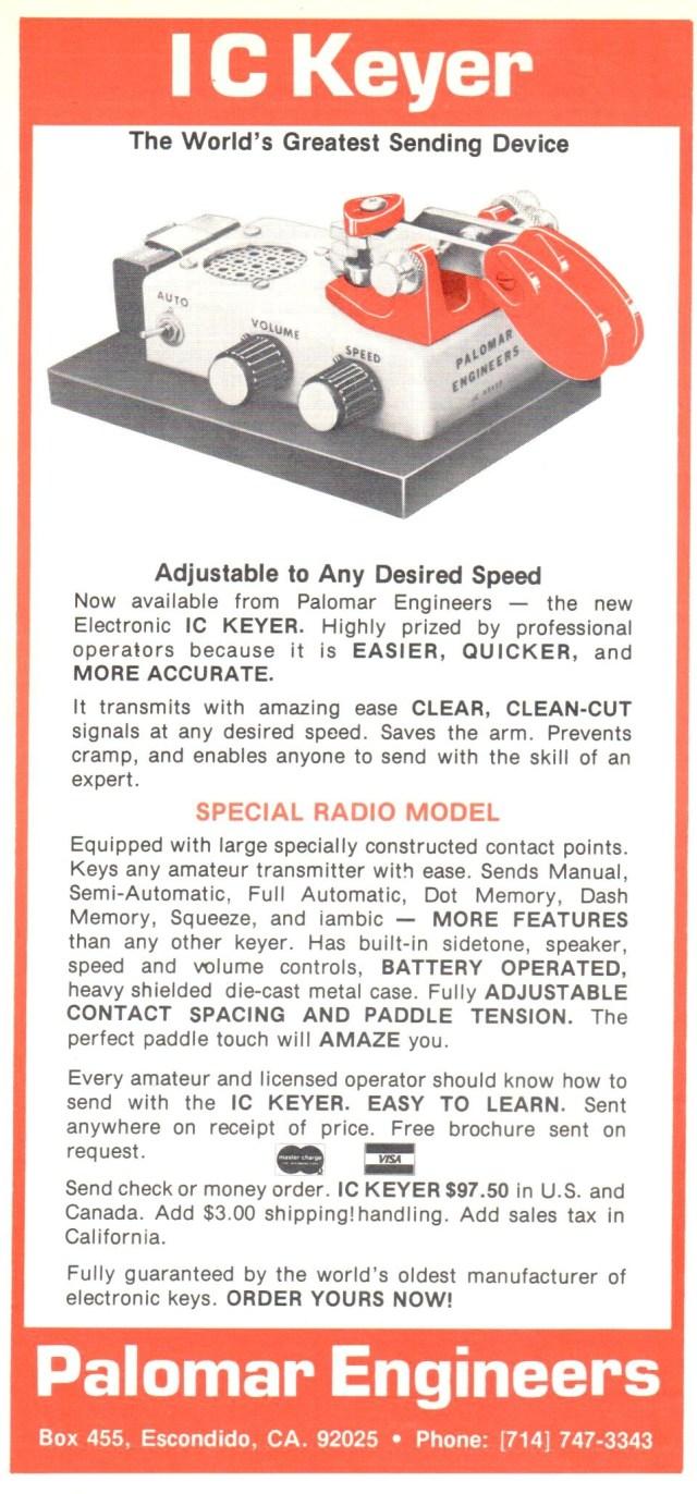 IC Keyer 1979 Ad - IC Keyer