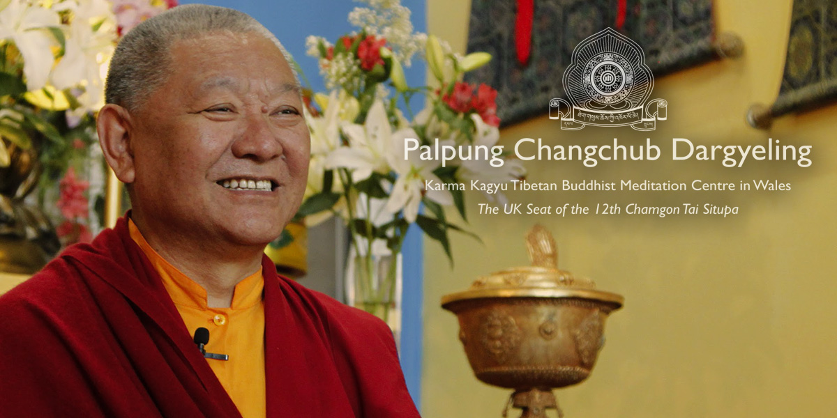 Venerable Ringu Tulku at Palpung Wales 2017