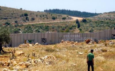 The wall at Ni`ilin