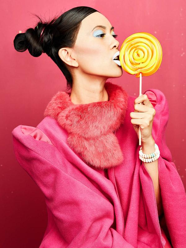 fashion-fotografie-mit-süssigkeiten Fashion Fotografie