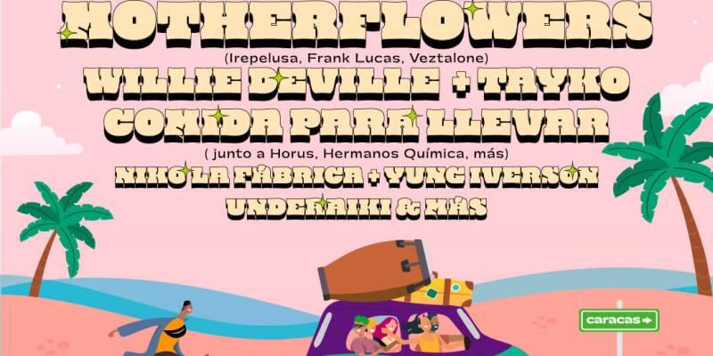 Cusica y LACONGA DE LACOSTA Concert At El Anfiteatro